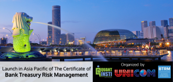 Launch of The Certificate of Bank Treasury Risk Management, Singapore