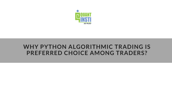 Python for trading
