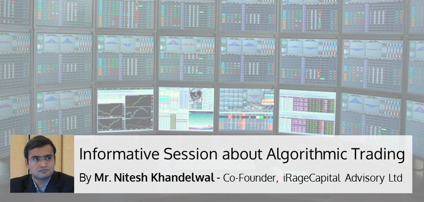 Informative Session about Algorithmic Trading