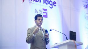 Rajib Ranjan Borah at FINBRIDGE - The Financial Services and Technologies Exhibition, March 2015 in Mumbai
