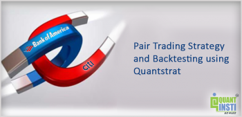 Pair Trading Strategy and Backtesting using Quantstrat