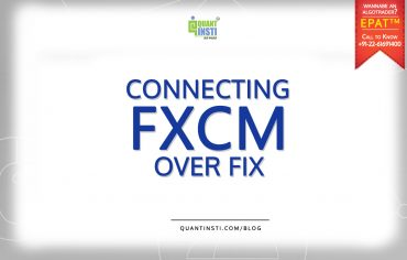 Connecting FXCM with Fix engine - A tutorial