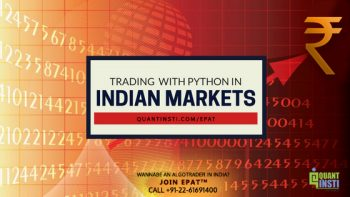 Trading with Python in Indian Markets