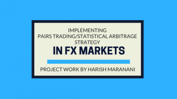 Implementing Pairs Trading/Statistical Arbitrage Strategy In FX Markets : EPAT Project Work