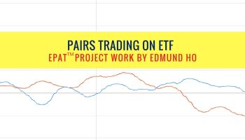 Pairs Trading on ETF – EPAT Project Work