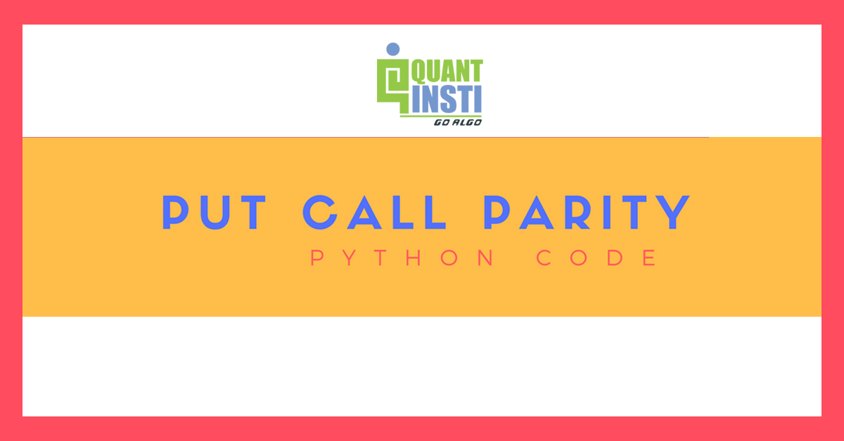 Put Call Ratio in Python